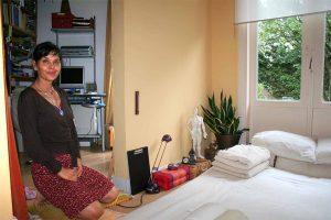 Anushka Hofman, DO-IN en Shiatsu docent en oprichter van de Nederlandse School voor DO-IN