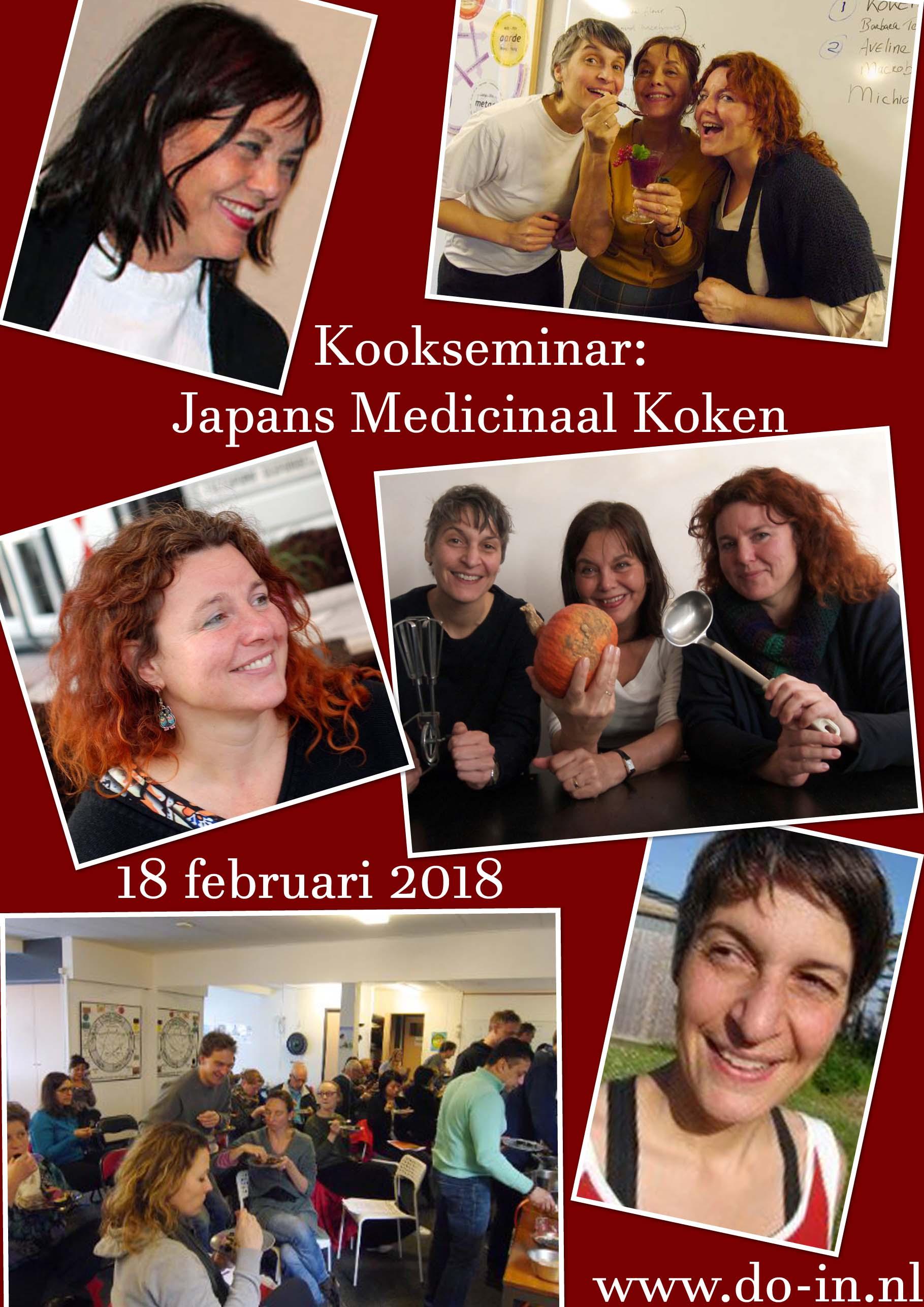 Nederlandse School voor DO-IN Bijscholing Kookseminar